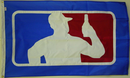 MLB Beer flag