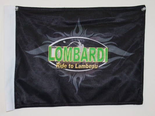 Lombardi - Ride to Lambeau Motorcycle Flags.JPG
