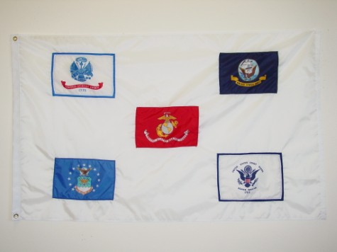 Armed Forces - Five Branches Flag.JPG