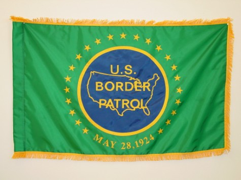 U.S. Border Patrol Indoor Flag.JPG