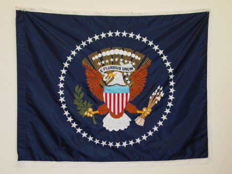 U.S. Presidential Seal Indoor Flag.JPG