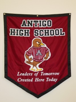 Antigo High School Mascot Banner.JPG