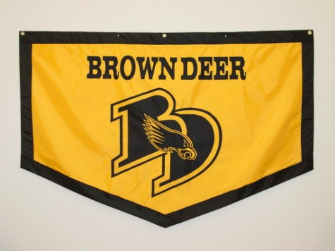 Conference Banner - Brown Deer Falcons Mascot.JPG