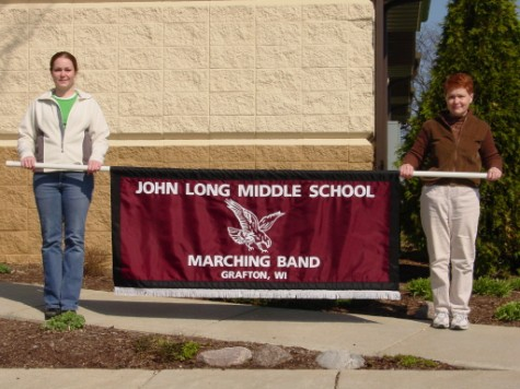 John Long Middle School Marching Parade Banner.JPG