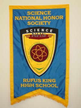 Rufus King Science National Honor Society Banner.JPG