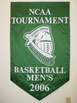 Wisconsin Lutheran NCAA Tournament Banner.JPG