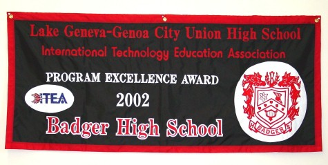 Badger HS Award Banner (Custom).JPG