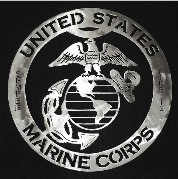 Marine Steel Sign Art