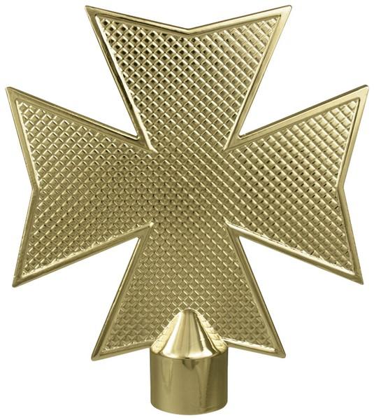 Metal Maltese Cross without Ferrule