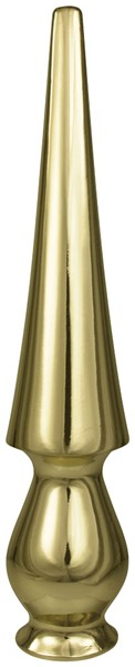Metal Round Spear 8in without Ferrule