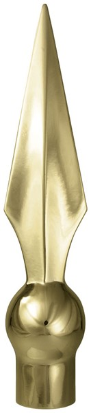 Metal Flat Spear 7 1/2in with Ferrule