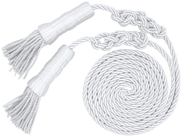 White Cord and Tassels
