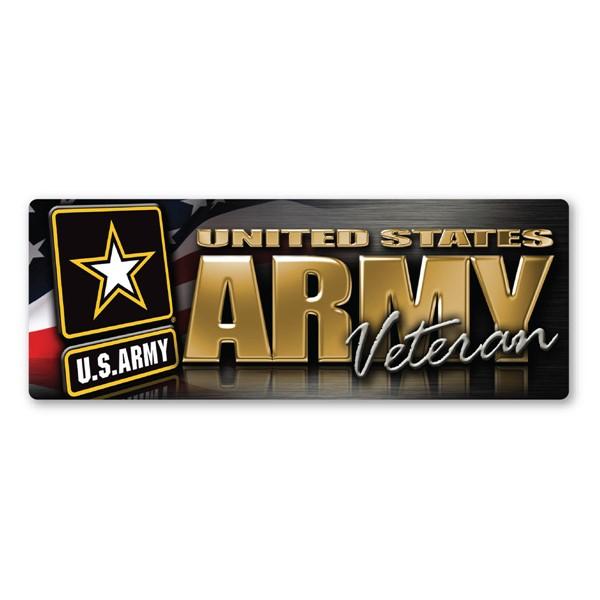 Army Veteran Magnet