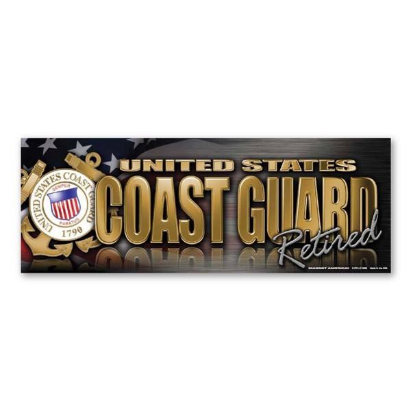 Coast Guard Retired Magnet