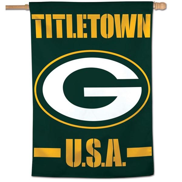 "Green Bay Titletown 27""x37"" Banner"