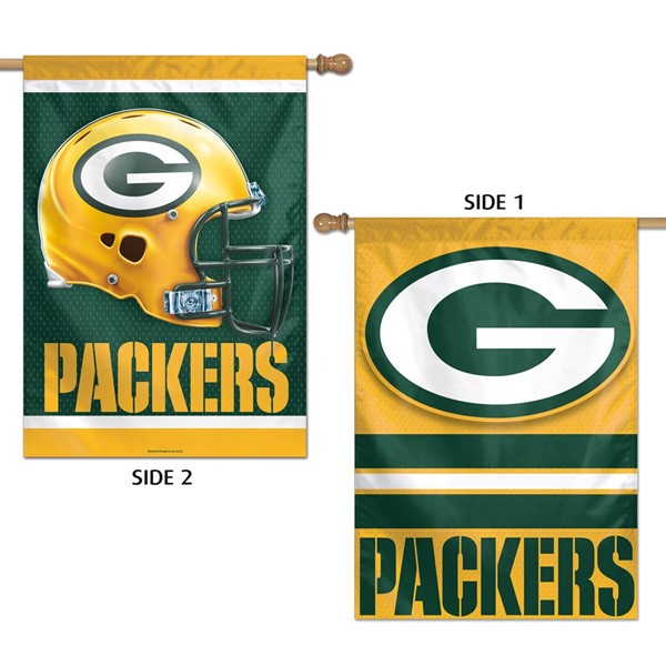 """Packers 2 Sided 27""""x40"""" Banner"""