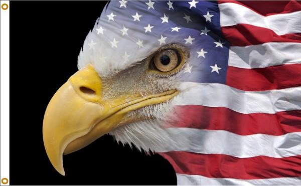U.S. Flag Eagle 3x5ft Flag