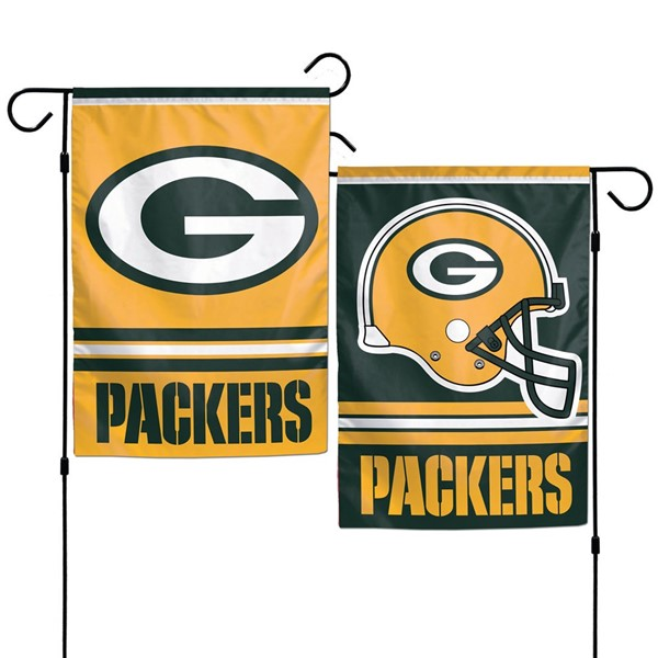 """Packers 2-Sided 12.5""""x18"""" Garden Flag"""