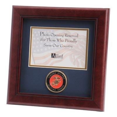 "Marine Medallion 4x6"" Photo 10x10"" Frame"