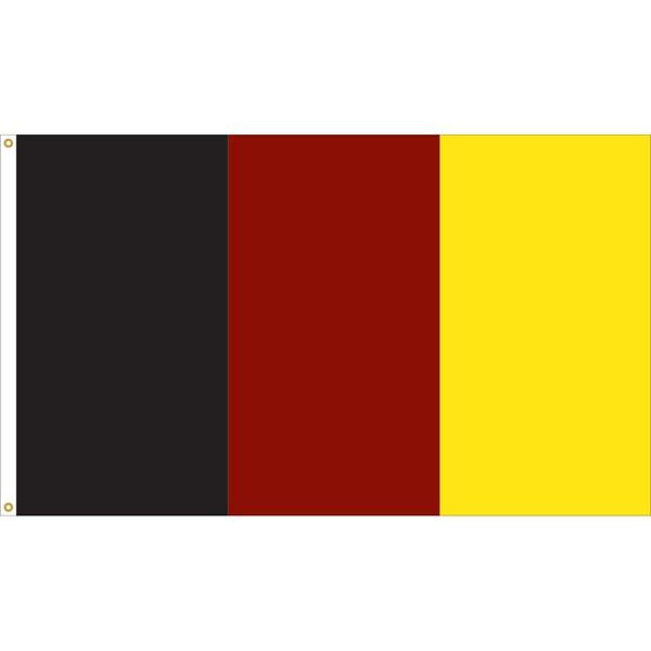 3 Stripe Vertical Flag