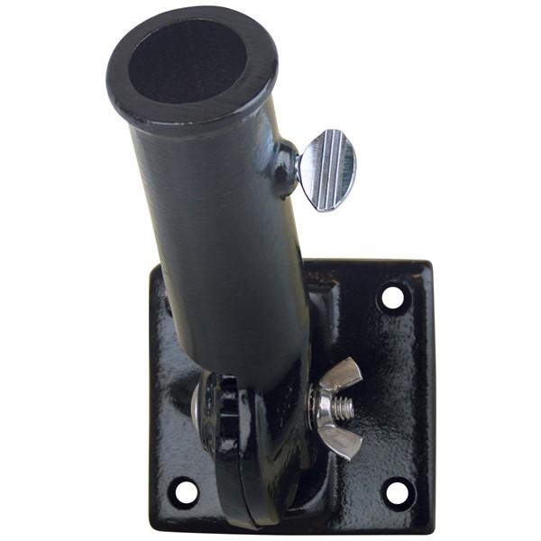 1in Black Adjustable Bracket