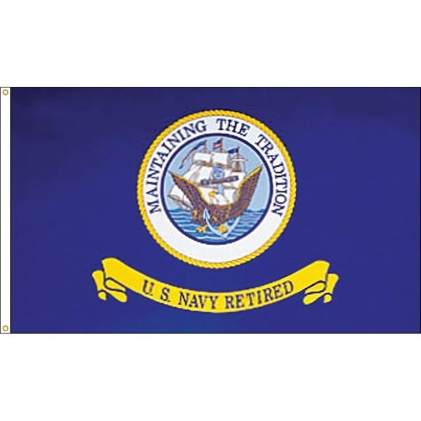 Navy Retired Flag