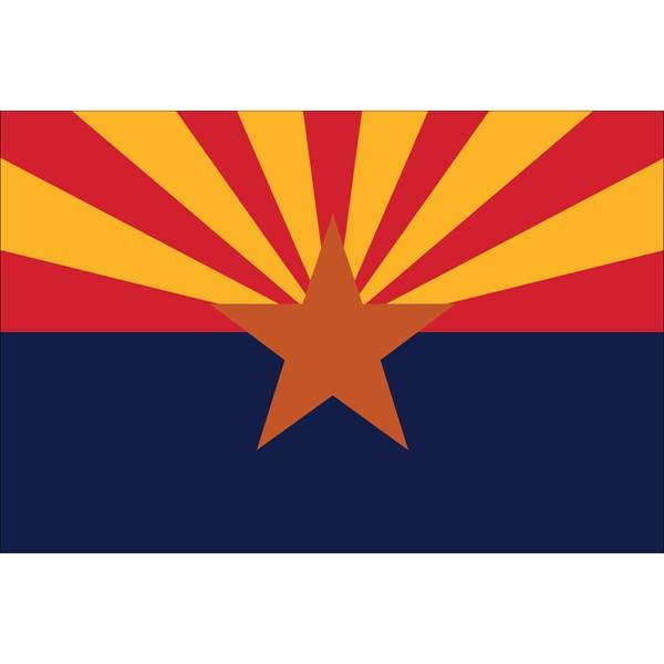 Arizona State Polyester Flag