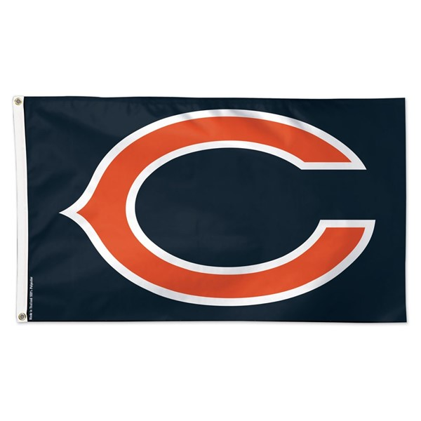 Chicago Bears (C) 3x5ft Flag