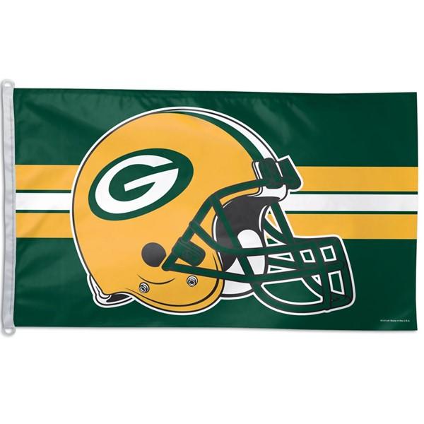 Green Bay Packers (New Helmet) 3x5ft Flag