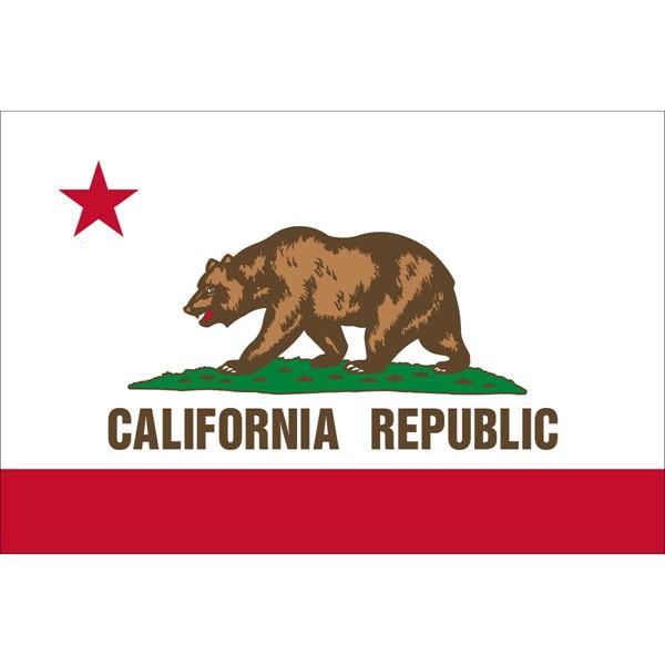 California State Nylon Flag