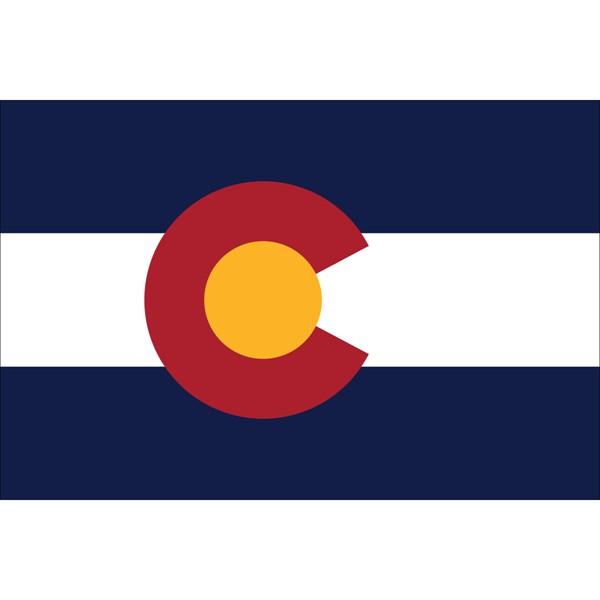 Colorado State Nylon Flag