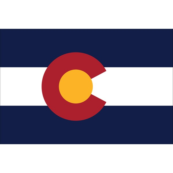 Colorado State Polyester Flag
