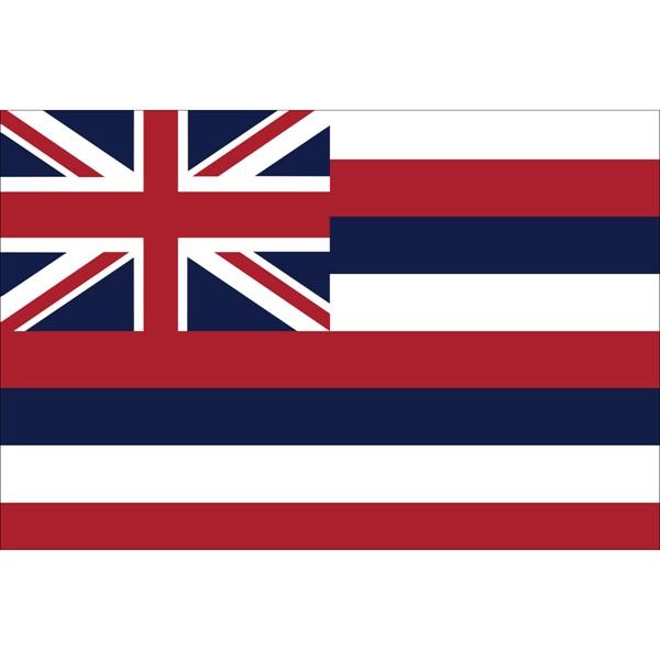 Hawaii State Nylon Flag