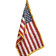 4.5x5.5ft U.S. Nylon Flag with Fringe