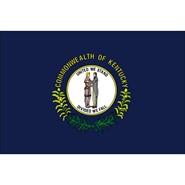 Kentucky State Polyester Flag