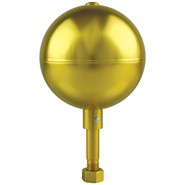 3in aluminum gold ball