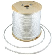 3/16in Wire Center Nylon Flagpole Halyard Spool