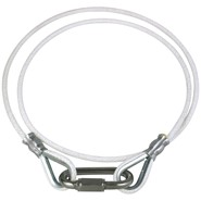 Rope Retainer Ring White