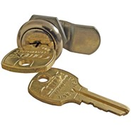 Lock & Key for an Internal Halyard Flagpole Door