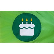Birthday Cake GOG Flag