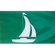 Sailboat (Green) Flag