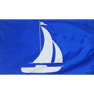 Sailboat (Blue) Flag