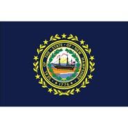New Hampshire State Nylon Flag