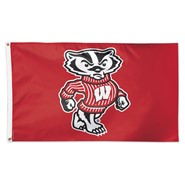 Wisconsin Univ Bucky 3x5ft Flag
