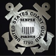 Coast Guard Steel Art