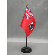 4x6in Mounted Bermuda Flag
