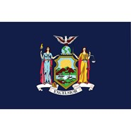 New York State Polyester Flag