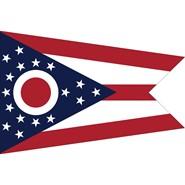 Ohio State Polyester Flag