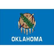 Oklahoma State Polyester Flag
