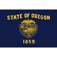 Oregon State Polyester Flag